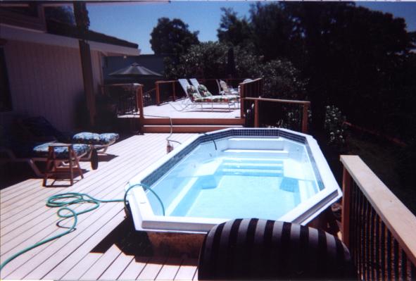 Swim spas florida north fiberglass pools swim spas for Florida hot tubs